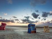 : Urlaub im Strandkorb -