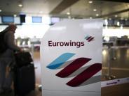 Streik: Eurowings- und Germanwings-Flugbegleiter streiken am Donnerstag