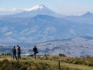 Vielseitige Hauptstadt: Umgeben von Vulkanen:Quito hütet sein Erbe