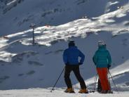 Schneehöhen in Europa: Gute Bedingungen auf den Skipisten der Alpen
