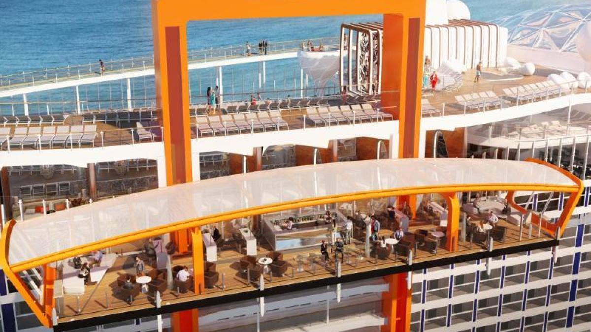 Neue Schiffsklasse Auf hoher See Riesensuiten und