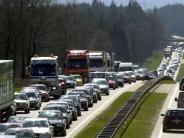 Bayern: Wohl viel Verkehr zum Feiertag - Wetter bleibt wechselhaft