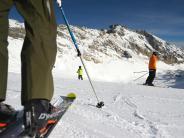 Schneehöhen: Skigebiete inden Alpen fahren Betrieb weiter herunter