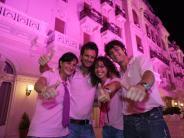 Badeort an der Adria: Rosarote Nächte: Rimini erfindet sich neu
