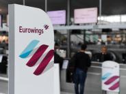 Ersatzbeförderung: Eurowings-Flüge fallen aus: Was Verbraucher wissen müssen