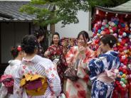 Japan ist im Trend: Ein Tag im Miet-Kimono: Die Touri-Attraktion in Kyoto