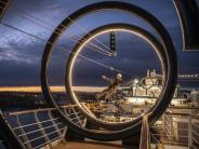 Per Zipline über das Pooldeck: Neues Kreuzfahrtschiff «MSC Seaside»