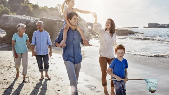 Familienurlaub: Ferien mit Oma und Opa