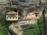 """Urlaub in Europa: Der """"Greek Canyon"""" und die Klöster von Meteora"""