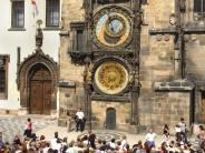 Restauration: Prager Rathausuhr verstummt für mehrere Monate