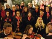 Konzert Der Kammerchor Schwabmünchen und...:  Himmlische Stimmen zum Advent