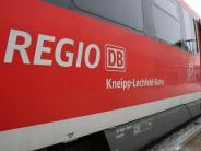 Augsburg - Ulm: Bahnstrecke zwischen Gessertshausen und Westheim wieder frei