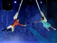 Königsbrunn: Eiszirkus schafft traumhafte Märchen