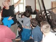 Mittelalter: Sagenhafter Unterricht zur Mühlentechnik
