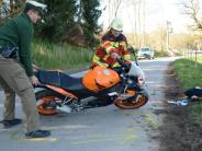 Schwabmünchen: Wieder ein Motorradunfall
