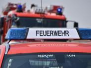 Landkreis Augsburg: Die Feuerwehr ist vor den Flammen da