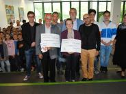 Benefizaktion: Schüler erlaufen Spenden für guten Zweck
