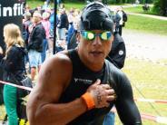 Triathlon: Ein Königsbrunner steckt sich hohe Ziele