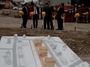 Spatenstich: Auch der soziale Wohnungsbau wird komfortabler