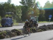 Bobingen/Mering: Statt Umleitung: auf dem Radweg zur Arbeit