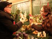 Tradition: Adventskränze sind heiß begehrt