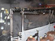 Polizeireport: 30.000 Euro Schaden bei Brand in Kleinaitingen