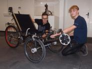 Jugend forscht 2017: Ein Rad zum fahren und schlafen