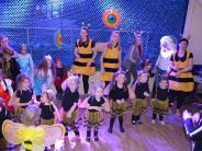 Graben: Partybienen rocken den Kinderfasching