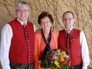 Jubiläum: Schmuttertaler feiern Schneiderin