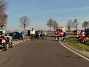 Königsbrunn: Vier Verletzte bei Unfall auf der B17