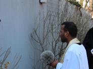 Graben: Ein Nagelkreuz in Graben als Zeichen der Versöhnung