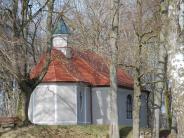 Mickhausen: Ein Container für die Herrgottsruhkapelle