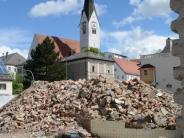 Schwabmünchen: Erst der Schutt, dann der der Neubau