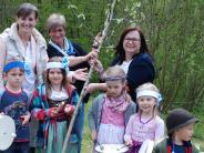 Mickhausen: Ein Apfelbaum für Kinder im Naturpark