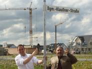 Untermeitingen: Georg Klaußner erhält eigene Straße