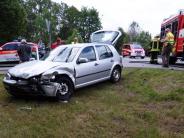 Königsbrunn: Fünf Verletzte bei zwei Unfällen