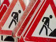 Biberbach: Vier Verletzte vor der Baustelle