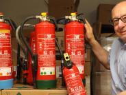 Augsburg: Der Feuerlöscher als Dauerbrenner