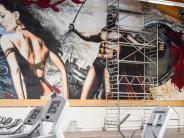 Schwabmünchen: Großes Kino auf 220 Quadratmeter Graffiti in Schwabmünchen