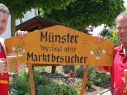 Münster: Der Münsterer Markt lockt die Besucher