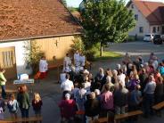 Riedlhofen: Rielhofen feiert für den Erhalt seiner Kapelle