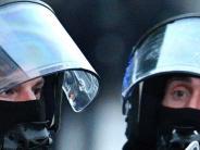 Königsbrunn: Polizisten aus der Region kommen unverletzt zurück