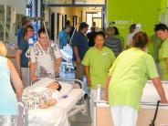 Bobingen: Brandschutzübung im Krankenhaus