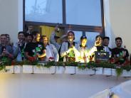 Untermeitingen: Verlorene Wette beim Bürgerfest eingelöst
