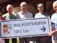 Walkertshofen: Lebendige Fernbeziehung über 1000 Kilometer