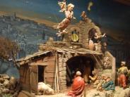 Fischach: Das Jesuskind im Schaufenster