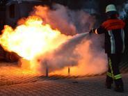 Polizeibericht aus Nördlingen: 70 Feuerwehrleute müssen löschen