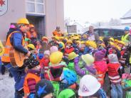 Klosterlechfeld: Kinder demonstrieren vor Rathaus