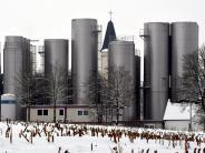 Neubau: Molkerei wächst über die Kirche hinaus
