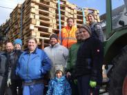 Langenneufnach: Funken machen Schluss mit Schnee und Kälte